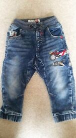 Boys jeans/joggers bundle 1.5-2 years