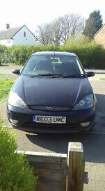 Ford Focus 2003 11mths MOT *TLC NEEDED*