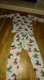 3 x Hatley Pyjamas excellent condition age4-5