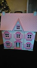 ELC DOLL HOUSE AND FURNITURE