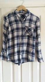 Size 8 checked shirt