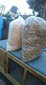 Pet beding hay straw