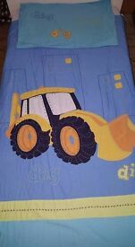 NEXT digger toddler bed linen-7 piece set