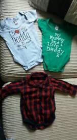 0-3 months baby vests