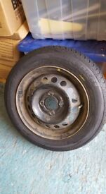 """13"""" wheel and tyre 4x100"""