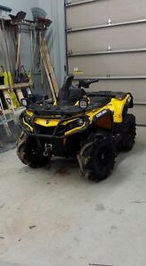 Can am gen2 snorkel kit used for a year and tires