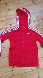 red addidas top