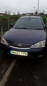 Ford Mondeo 1.8 petrol 2007 p/x for a small car