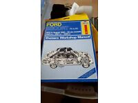 Ford Escort Haynes manuals