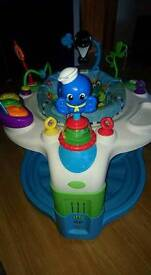 Baby Einstein bouncer activity table
