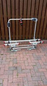 A-Frame bike carrier for caravan