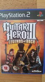 Guitar Hero 3 Legends of Rock for PS2