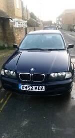 Excellent condition, Bmw, 3 series, 4 door, 1.9 petrol