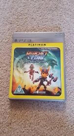 PS3 PLATINUM EDITION RATCHET & CLANK - A CRACK IN TIME
