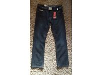 Smith and Jones Mens Jeans W34 L32 Brand New