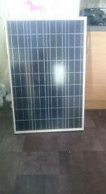 100w Caravan solar panel with control panel