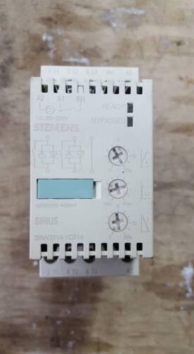 SIEMENS 3RW3014-1CB14 SOFT STARTER   W29