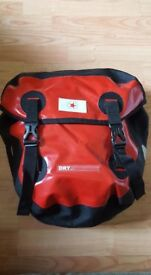Revolution Adventure Welded Pannier x 2 for Bicycle touring 40 litres - great for touring/commuting