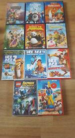 Disney and Dreamworks DVDs