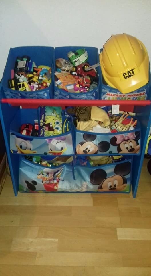 Mickey Mouse toy storage