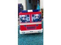 Fireman Sam 12v Jupiter Battery powered ride-on Fire engine