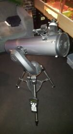 NEXSTAR 130SLT COMPUTERIZED TELESCOPE WITH EXTRA LENSES AND CASE MINT CONDITION £350 ONRO.
