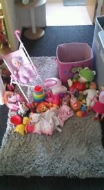 Toy bundle from birth