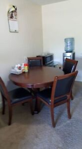 Beautiful Dinning table with four chairs