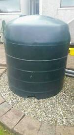 1200 lt oil tank complete with fittings