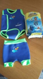Swim Best outfit 0-6 months + 9 swim nappies