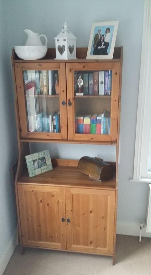 Wooden Welsh Dresser Display Cabinet