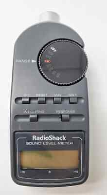 Radio Shack Digital Sound Level Meter 33-2055 1z