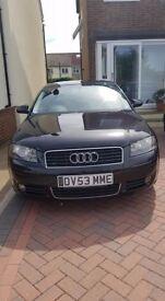 Audi A3 2003 Black 3door 2L FSi Petrol
