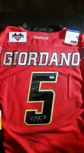 Signed Giordano jersey with COA