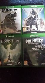 Xbox one games all £5 each immaculate condition