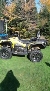 2014 CAN AM OUTLANDER MAX XT 800 R
