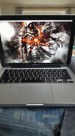 Macbook fully working however a lot of cosmetic damage