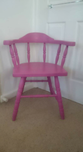 Pink chair Enfield Burwood Area Preview