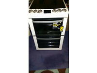 Zanussi free standing electric cooker