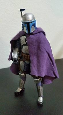 Custom Cloak Violet For Jango Fett Star Wars 6 Inch Black Series No Figure