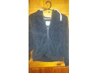 Blue Mantaray hoody size 8