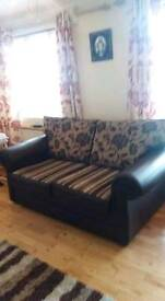3 seater with 2 fireside armchairs