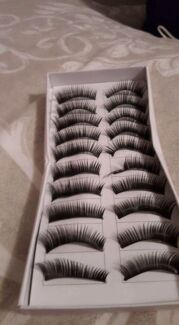 Fake eyelashes new 10 pack Melba Belconnen Area Preview