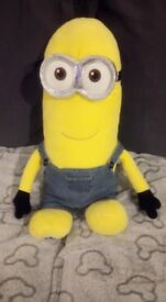 Build-a-bear Minion with sounds and one outfit