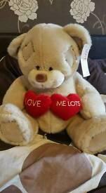 Large love me lots bear