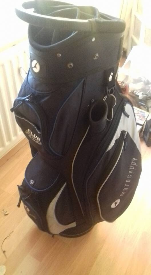 Motocaddy Pro-Series golf bag 14 way divider and putter well