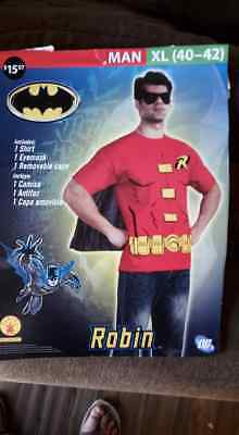Batman and Robin Parent and Child Halloween Costume Set XL and XS  (w/o masks)