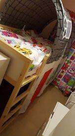 Ikea children's bed canopy/ tent