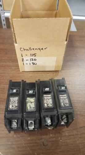 CHALLENGER (1) 115 & (2) 120 & (1) 130 CIRCUIT BREAKERS   W63