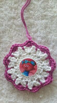 Crochet Trolls Poppy / Christmas Ornament / Gift Tag / Tree Hanger ()